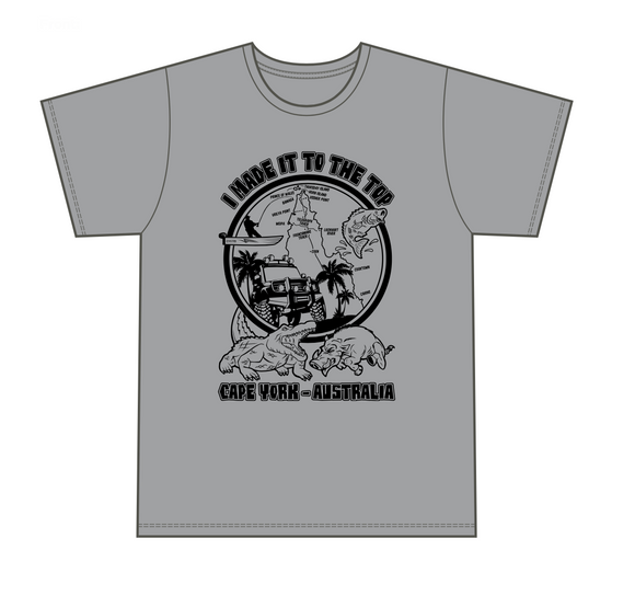 Classic Cape York Grey Men's T-Shirt