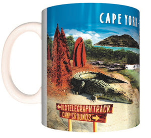 Tropical Montage Coffee Mug