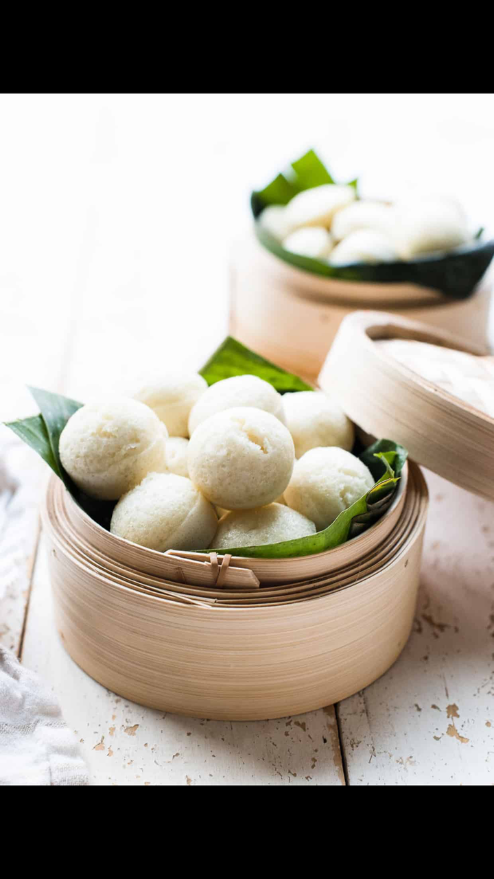 Delicious Dessert | steamed cake puto