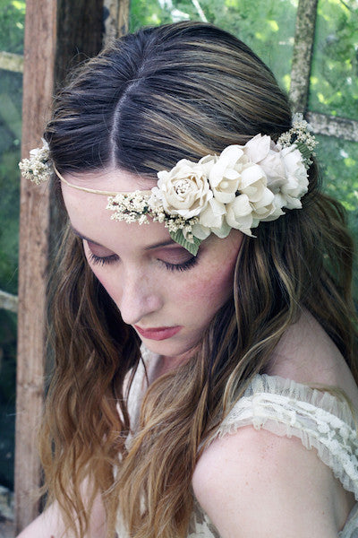 Hydrangea with Rose Crown