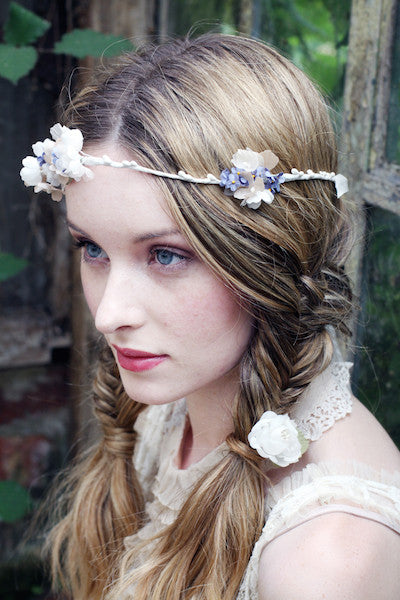 Forget-me-not with Blossom Crown