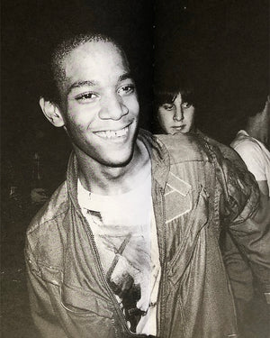 Jean-Michel Basquiat through Nicholas Taylor