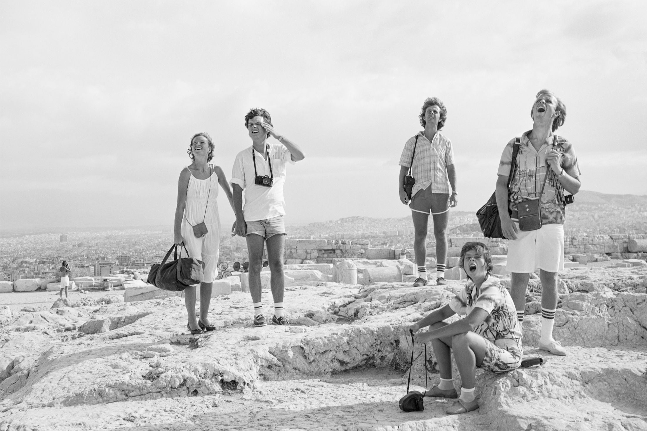 <b>On the Acropolis </b><br>Tod Papageorge