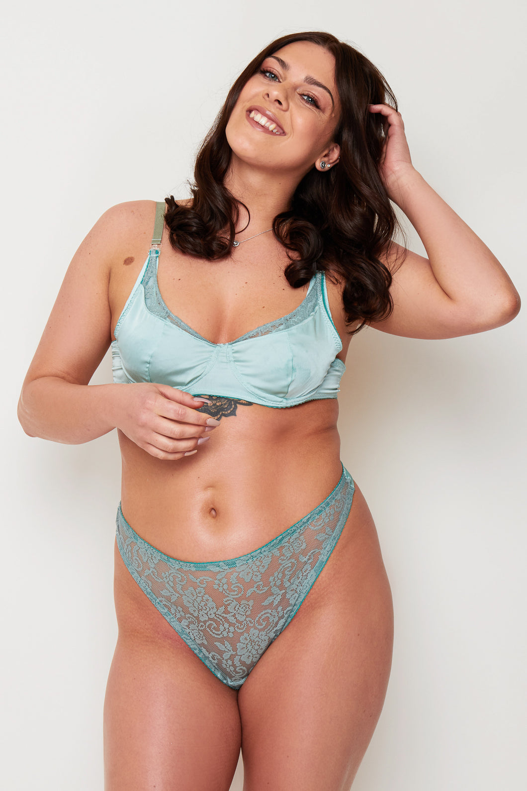 GREEN PASTEL NURSING BRA