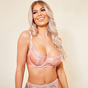 Pretty in Pink Nursing Bra