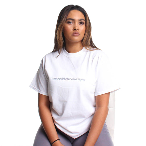 'Unapologetic Ambitions' Slogan T-Shirt