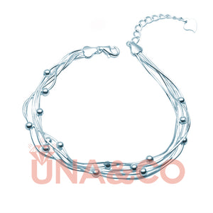 Multi-layer Thin Beaded Special Designed Bracelet