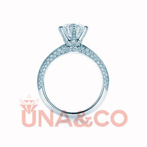 Ice And Fire of UNA&CO CVD Diamond Ring