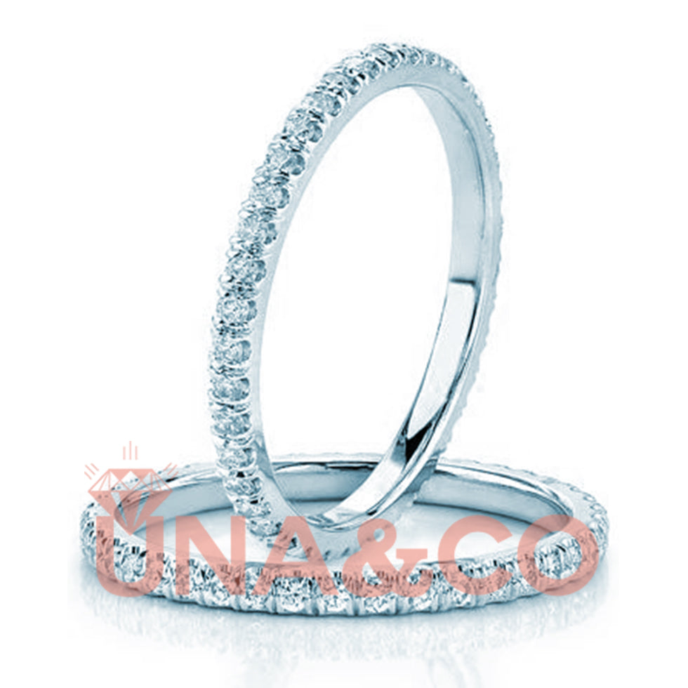 Single CVD Diamond Ring for Eternity