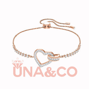 Classic and Romantic Set with Diamond Bracelet
