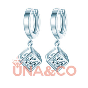 Special Design Cubic Diamond  Earrings