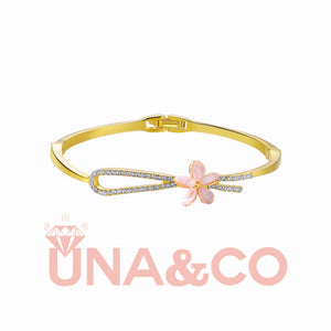 Delicate Flower Bracelet-Two Colors Available