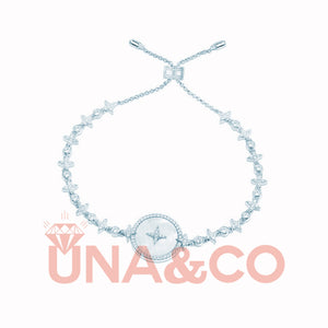 Pinctada Albina Star Setting Adjustable Bracelet