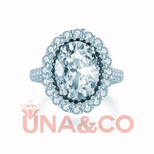 The Queen 4.5CT CVD Diamond Ring