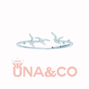 Special Swallow Shape Open bracelet