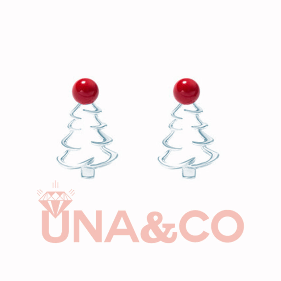 New Arrival Cute Christmas Tree Earrings