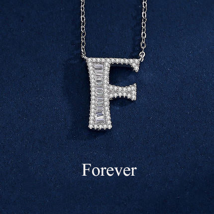Fashionable necklace with Twenty-six Letters