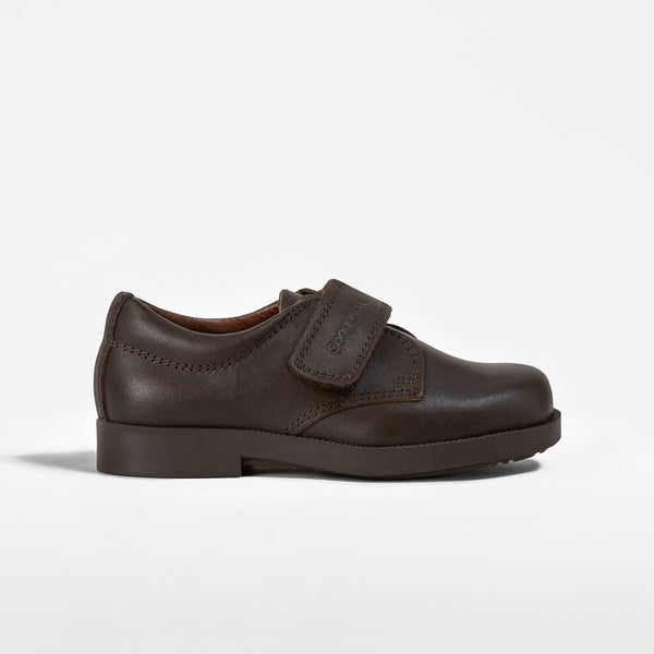 Brown Boys School Shoes