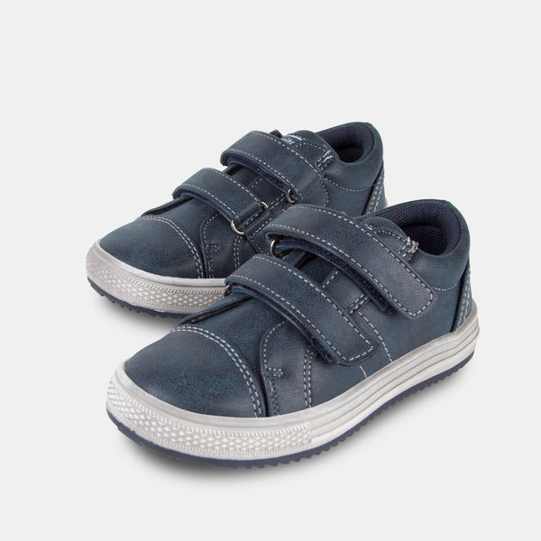 Boys Navy Nobuck Sneakers