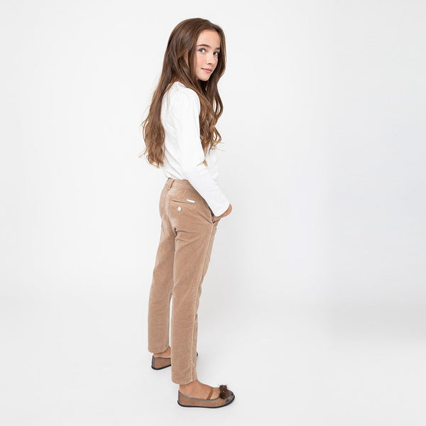 Girls Camel Jeans