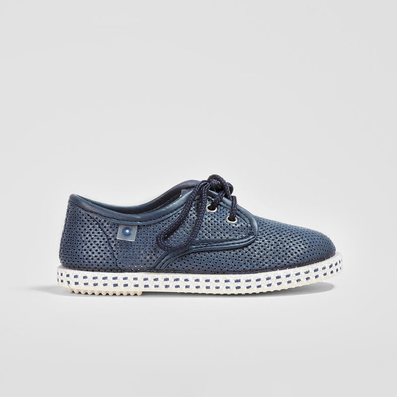 Boys Navy Shoes