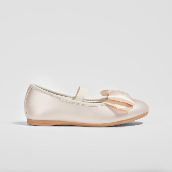 Girl's Pink Patent Leather Ballet Pumps