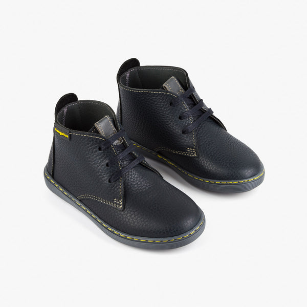 Boy's Navy Safari Boots