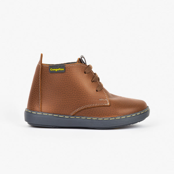 Boy's Brown Safari Boots