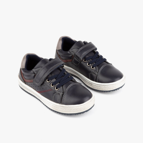 Boy's Navy Napa Sneakers
