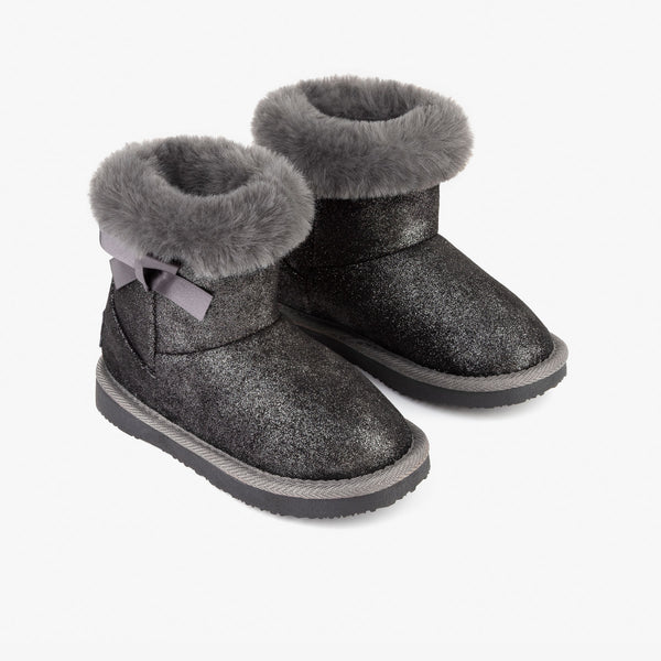 Girl's Lead Fur Australian Boots