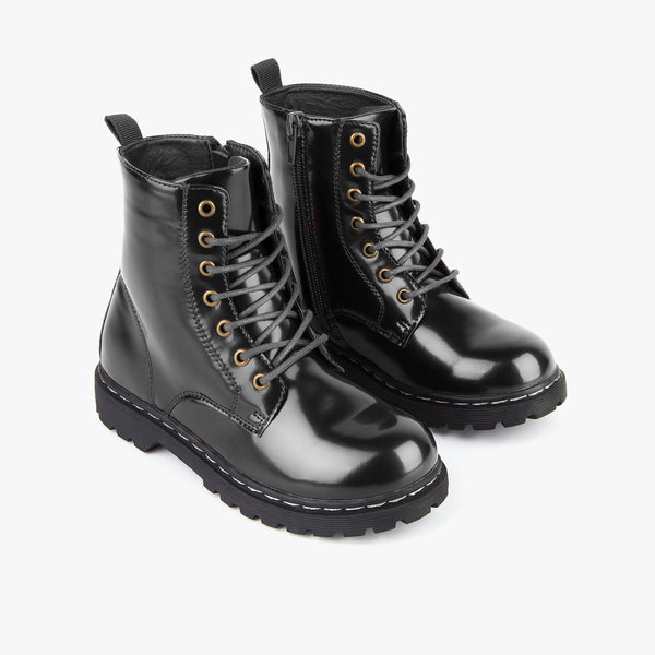 Girl's Black Antik Boots