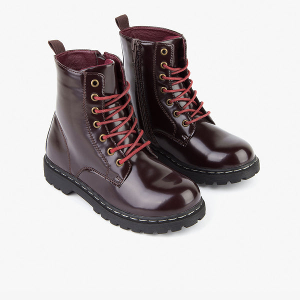 Girl's Bordeaux Antik Boots