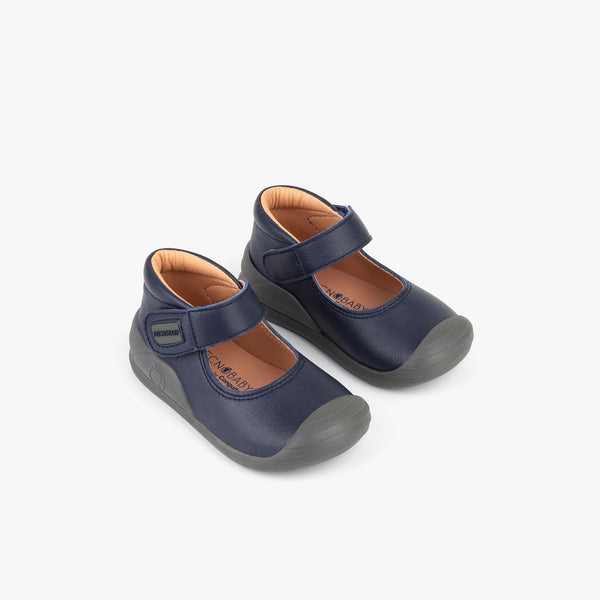 Baby's Navy Onmicro® Mary Janes