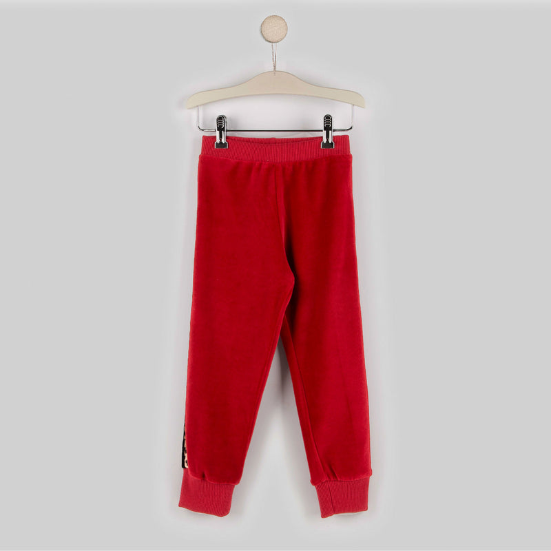Girl's Red Jogging