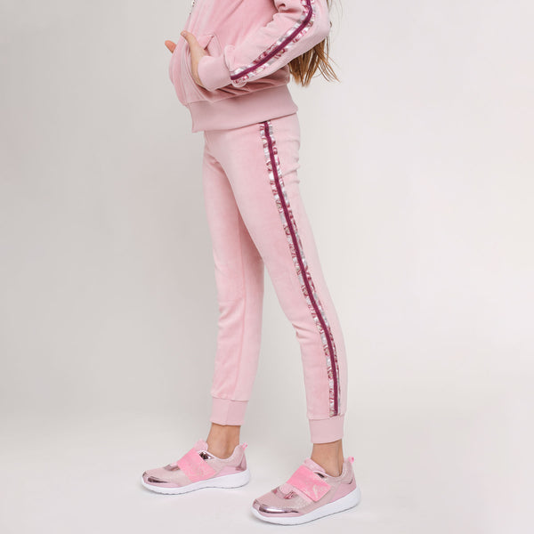 Girl's Pink Jogging