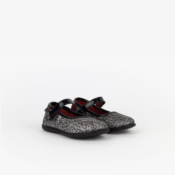Baby's Leopard Print Glitter Mary Janes