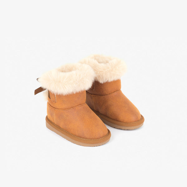 Baby's Camel Bow Australian Boots