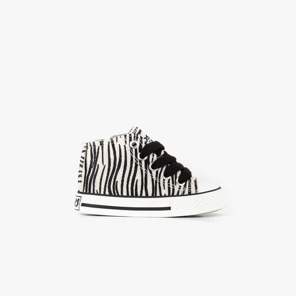 Baby's Zebra Fured Booties