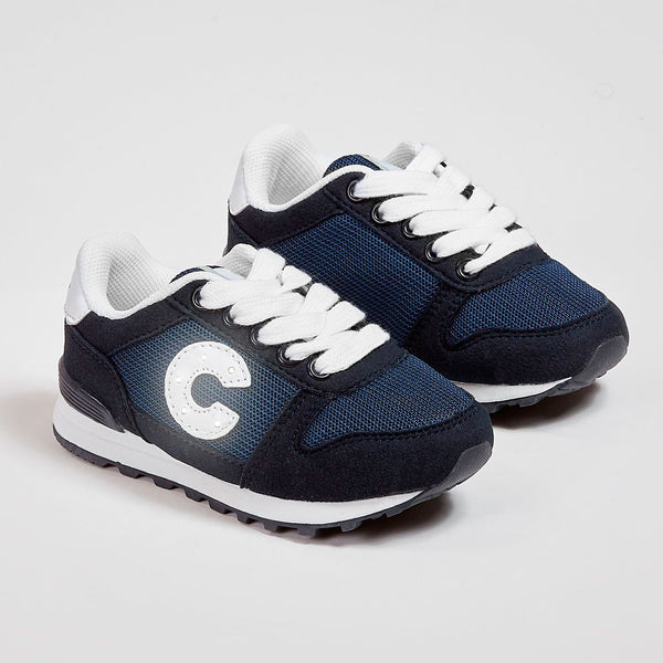 Unisex Navy Sneakers with Lights