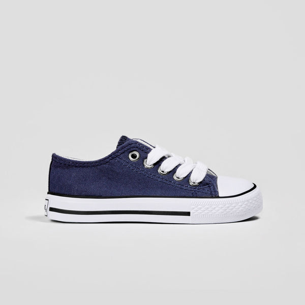 Unisex Navy Canvas Sneakers