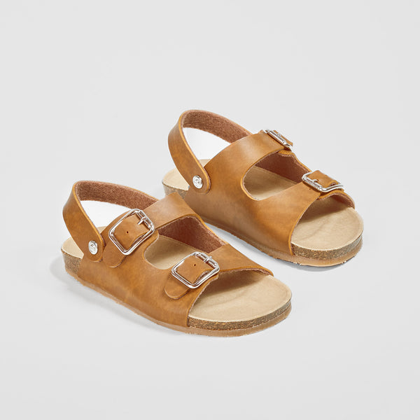 Boys Brown Bio Sandals