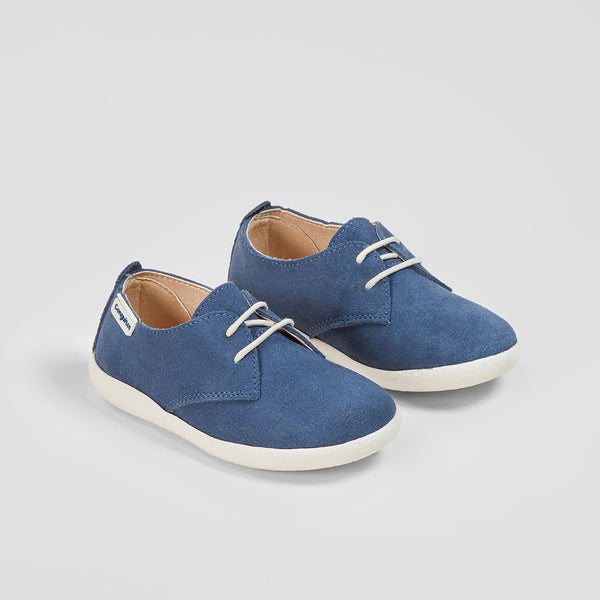Boy's Blue Suede Shoes