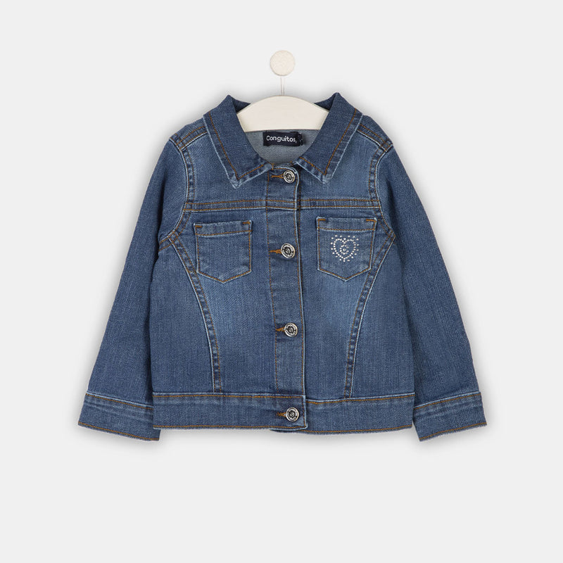 Girls Medium Denim Jacket