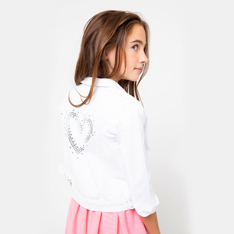 Girls White Jacket