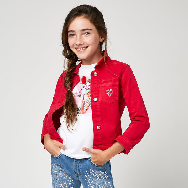 Girls Red Jacket