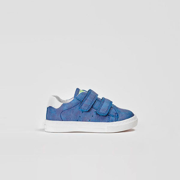 Baby's Blue Velcro Sneakers