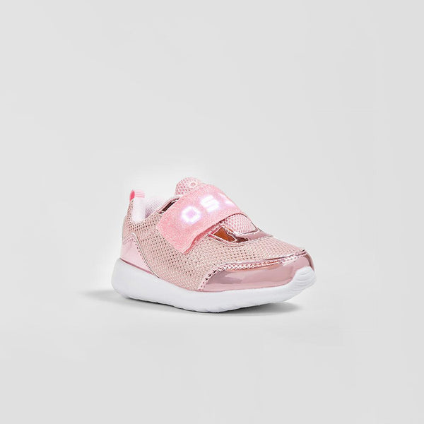 Babies Pink with Led Lights Sneakers