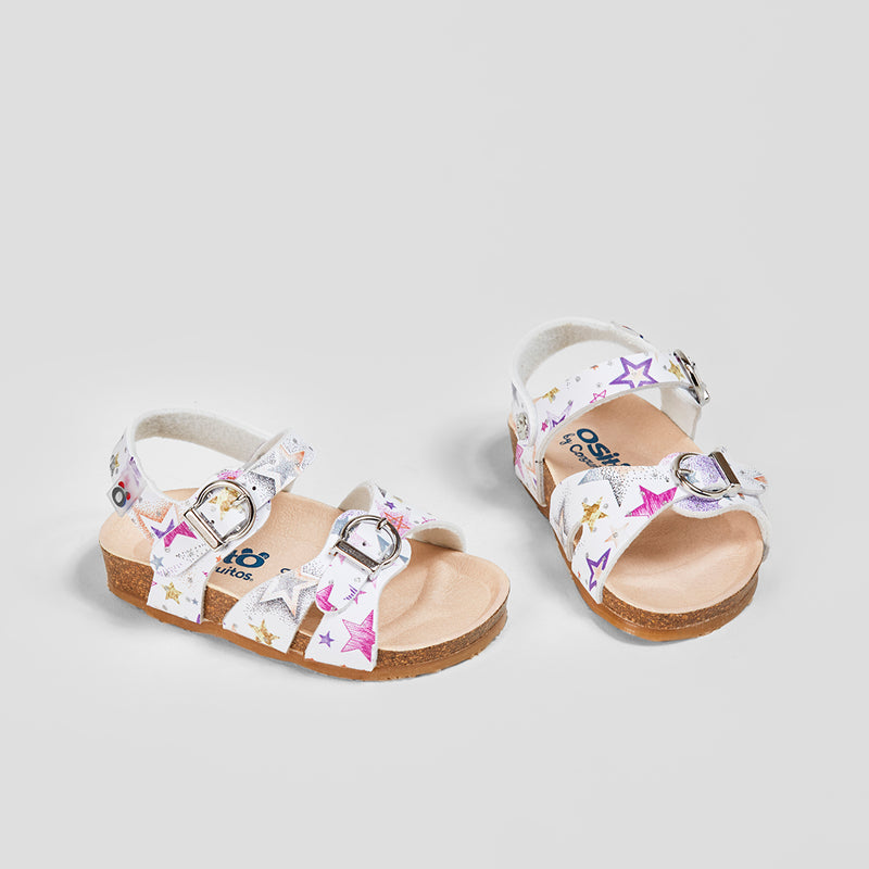 Baby's Pink Star Sandals