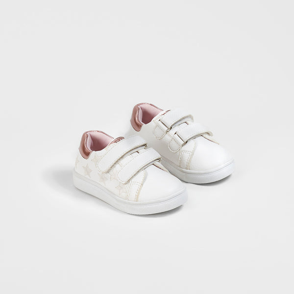 Baby's Colour-Changing Embroidered Stars Sneakers
