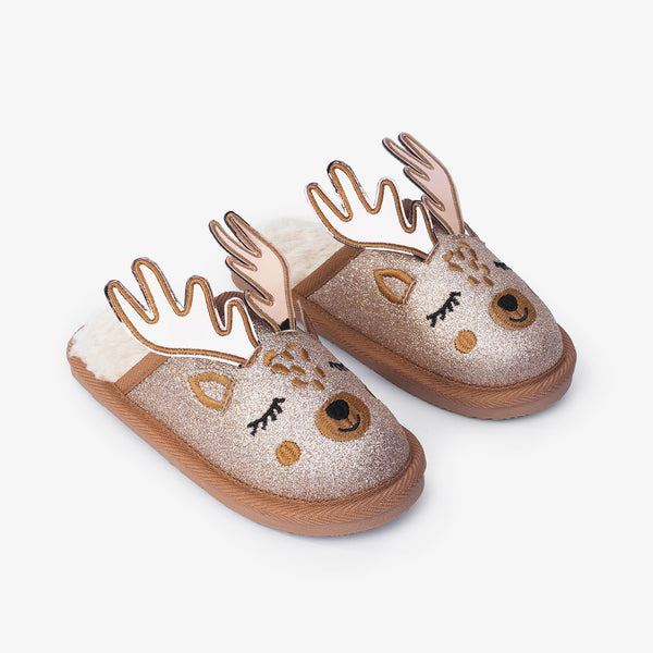 Reindeer Home Slippers